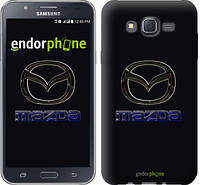 "Чехол на Samsung Galaxy J7 J700H Mazda. Logo v2 ""3122c-101"""
