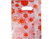 Пакет с вырубной ручкой Подарочный (20*25) № 8 китай (100шт) (1 пач)
