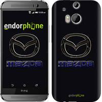 """Чехол на HTC One M8 dual sim Mazda. Logo v2 """"3122c-55"""""""