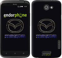 "Чехол на HTC One X+ Mazda. Logo v2 ""3122c-69"""