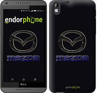 "Чехол на HTC Desire 816 Mazda. Logo v2 ""3122c-169"""