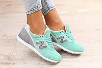 Размер 36 и 37!!!! Стильные и яркие женские кроссовки New Balance 996 салатовые