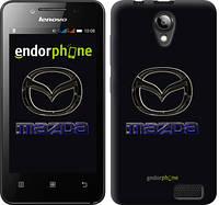 """Чехол на Lenovo A319 Mazda. Logo v2 """"3122u-196"""""""