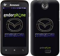"""Чехол на Lenovo A300 Mazda. Logo v2 """"3122u-229"""""""