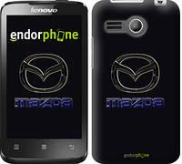 """Чехол на Lenovo A316 Mazda. Logo v2 """"3122u-199"""""""