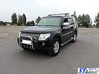 Защита переднего бампера (кенгурятник)  Mitsubishi Pajero Wagon 4 (06+)