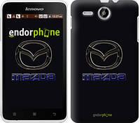 """Чехол на Lenovo A529 Mazda. Logo v2 """"3122u-200"""""""