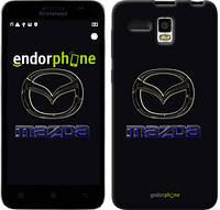 """Чехол на Lenovo A8 Mazda. Logo v2 """"3122u-233"""""""