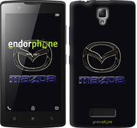 """Чехол на Lenovo A2010 Mazda. Logo v2 """"3122c-216"""""""