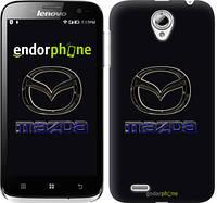 """Чехол на Lenovo A859 Mazda. Logo v2 """"3122u-197"""""""