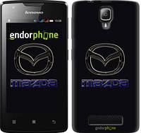 """Чехол на Lenovo A1000 Mazda. Logo v2 """"3122u-157"""""""
