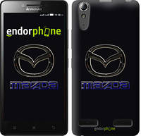 "Чехол на Lenovo K3 (K30-t) Mazda. Logo v2 ""3122c-114"""