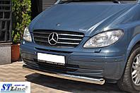 Кенгурятник  Mercedes Vito (2003-2010) / ус одинарный