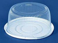 Упаковка з полістиролу для торта ПС-260 Д (V=7200мл)d 335 h135 (150 шт)