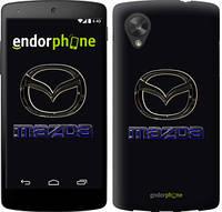 "Чехол на LG Nexus 5 Mazda. Logo v2 ""3122c-57"""