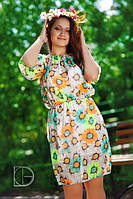 Платье 037 гл шифон, фото 1