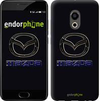 """Чехол на Meizu Pro 6 Mazda. Logo v2 """"3122c-293"""""""
