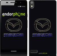 "Чехол на Huawei Ascend P6 Mazda. Logo v2 ""3122c-39"""