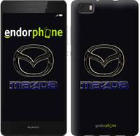 "Чехол на Huawei Ascend P8 Lite Mazda. Logo v2 ""3122c-126"""