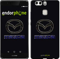 """Чехол на Huawei P9 Plus Mazda. Logo v2 """"3122u-300"""""""