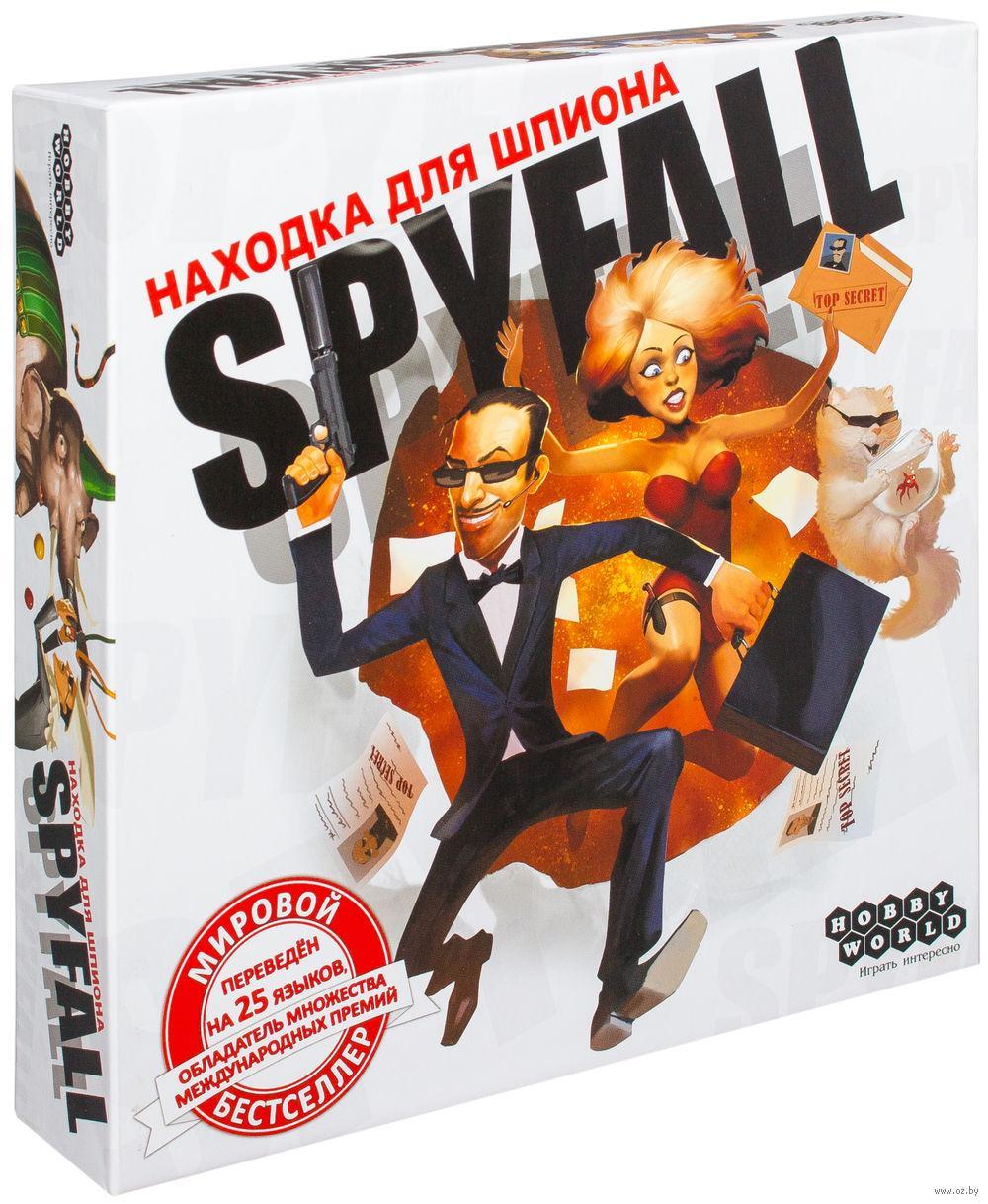 Настольная игра Находка для шпиона / Spyfall (2-е рус. изд.) TM Hobby World