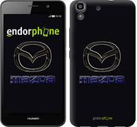"""Чехол на Huawei Y6 Mazda. Logo v2 """"3122c-333"""""""