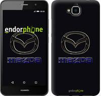 "Чехол на Huawei Y6 Pro Mazda. Logo v2 ""3122c-355"""