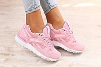 Стильные и яркие женские кроссовки Reebok GL 6000 Pink