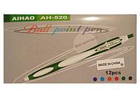Ручка шариковая автоматическа Aihaor 520 (12 шт)