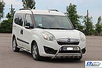 Защита переднего бампера (кенгурятник)  Opel Combo Combo D (11+)