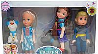 Игровой набор из 5 кукол Frozen 381