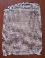Сетка овощная, сетка-мешок для овощей (р40х60) 20кг оранжевая (100 шт)