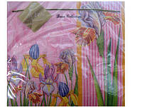 Салфетка (ЗЗхЗЗ, 20шт) Luxy  Петушки (493) (1 пач)