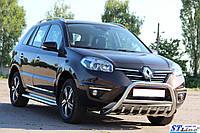 Защита переднего бампера (кенгурятник) Renault Koleos (08-15)