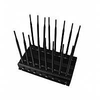 Мощный подавитель GSM, DCS, CDMA, , 3G, 4G, GPS L1-L5, Lojack, GLONASS, ПДУ.