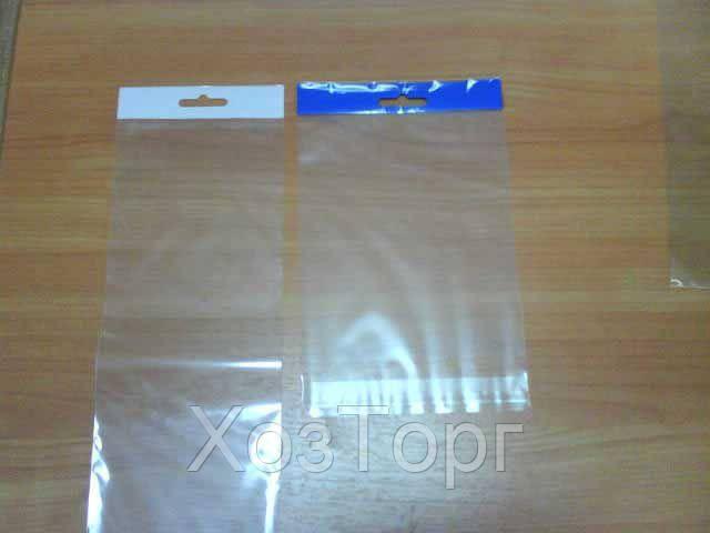 Пакет прозрачный полипропиленовый + скотчк  15*20+4\25мк +скотч(+еврослот3,5) (1000 шт) - ХозТорг в Харькове