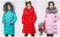 Зимние пальто и куртки для девочек