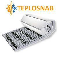 Мат для теплого пола PENOROLL 50 - 25М3 из вспененного полистирола покрытый отражающей пленкой или полипропиленовой тканью