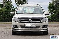 Кенгурятник  VW Tiguan I (11-16) - ус двойной