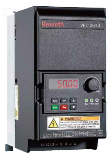 Частотный преобразователь VFC3610 3 кВт 3-ф/380 R912005381