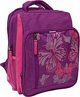Детский рюкзак с принтом бабочек