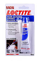 Фланцевый герметик Loctite 5926 (Локтайт 5926) — силикон уксусный, синий, до +250°С, 40 мл