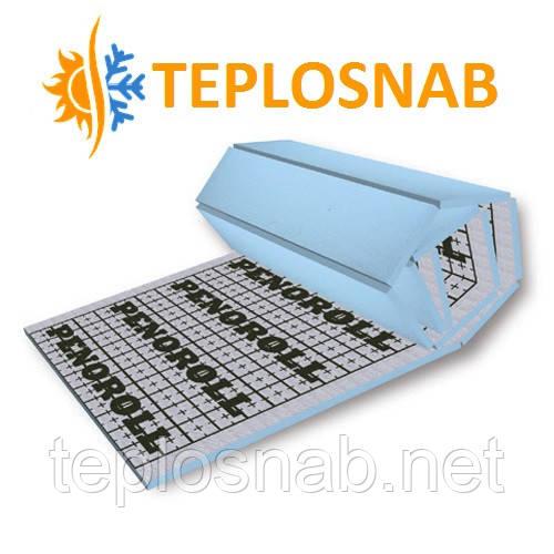 Мат для теплого пола PENOROLL 30 теплоотражающий из экструдированного пенополистирола