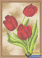 Схема для вышивки бисером - Тюльпаны, Арт. ДБп5-106