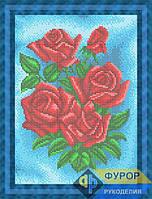 Схема для вышивки бисером - Розы, Арт. НБп4-110-2