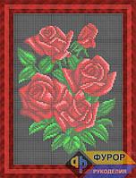 Схема для вышивки бисером - Розы, Арт. НБп4-110-3