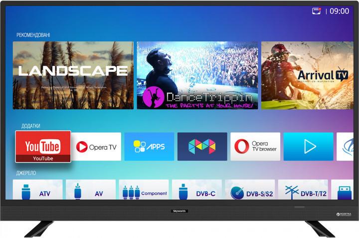 Телевизор Skyworth 32Е3 Smart TV