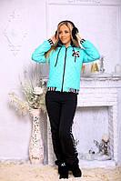 Стильный зимний костюм куртка и штаны
