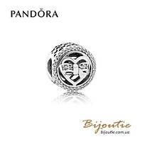 Pandora шарм ДРУЖЕСКИЕ УЗЫ #792146CZ серебро 925 Пандора оригинал