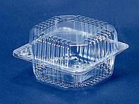 Контейнер пластиковый с откидной крышкой ПС-8 (V500мл\110*105*58) (50 шт)
